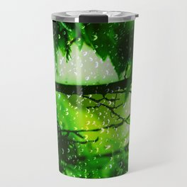 Raindrops falling in love Travel Mug