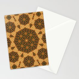 Earth Mandala Stationery Cards