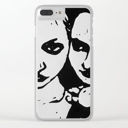 Anais and June Clear iPhone Case