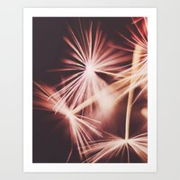 ruby Art Prints featuring ruby by Ingrid Beddoes