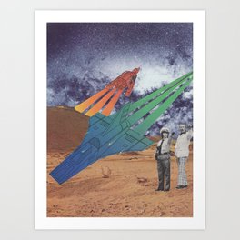 Space Dirt Art Print