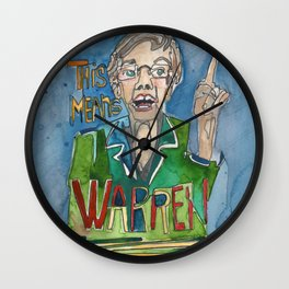 This Means WARREN Wall Clock