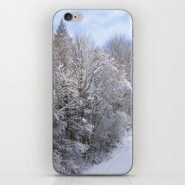 Scenic Snowy Trees iPhone Skin