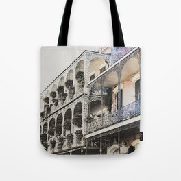 New Orleans Throwback Tote Bag