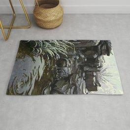 Water Falling Rug