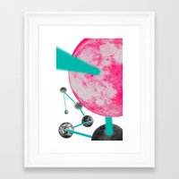 planets Framed Art Prints featuring Planets by Dino cogito