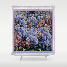 CEANOTHUS JULIA PHELPS ABSTRACT Shower Curtain