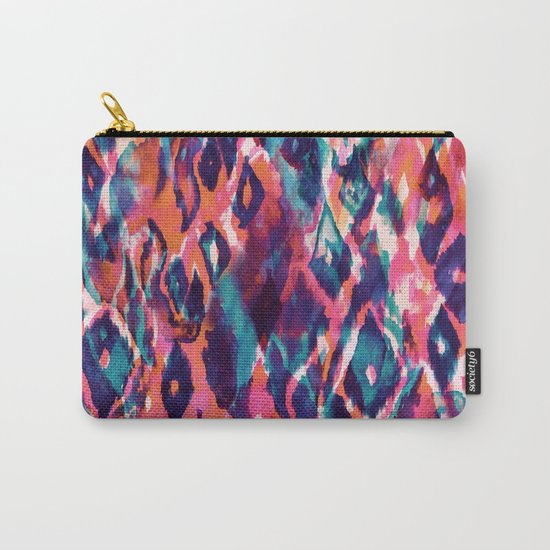 Mystical Ikat Carry-All Pouch