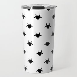 patter goat black Travel Mug