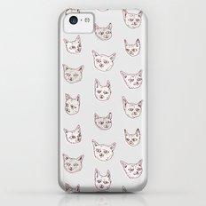 Gritty Kitties iPhone 5c Slim Case