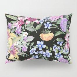 FLORAL GARDEN 3 #floral #flowers #vintage Pillow Sham