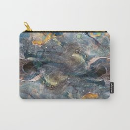 whimsical abstract paint image Carry-All Pouch
