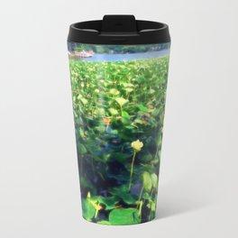 Lotus Blossoms in Bloom Travel Mug