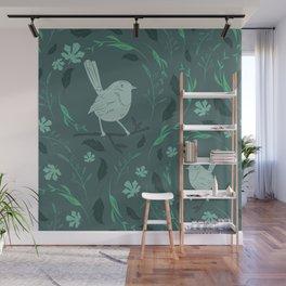 Birds Patterns Wall Mural