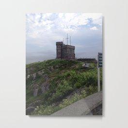 Cabot Tower Metal Print