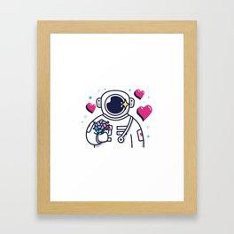 Flowers For You Framed Art Print