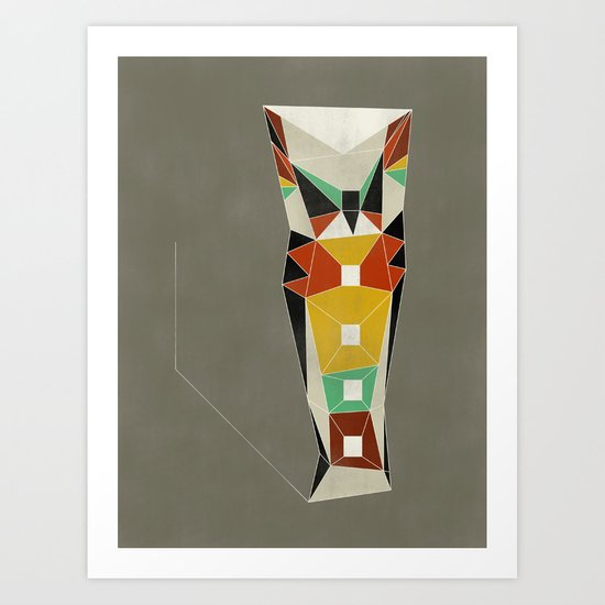 Modern Totem Art Print