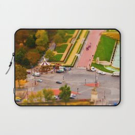 Paris Miniature (Tilt Shift) Laptop Sleeve