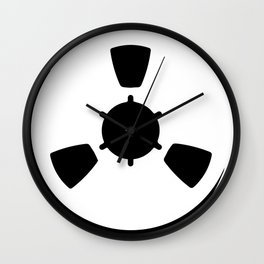 Abstract Reel of Tape Wall Clock
