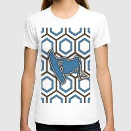 Wakeboard Stunt Water Sports Pattern Design T-shirt