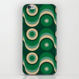 70s Optical Wallpaper iPhone Skin