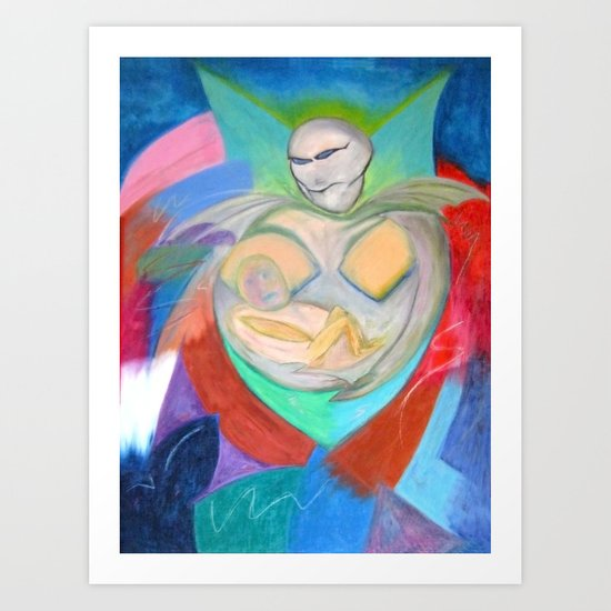 Madonna and Child ~ Redux Art Print