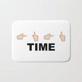 Limiter Time Bath Mat
