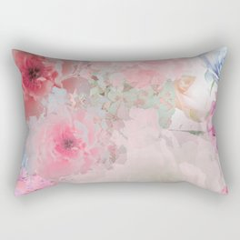 STOP FLOATING AROUND (PEACH) Rectangular Pillow