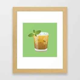 Mint Julep - Minty Fresh Framed Art Print