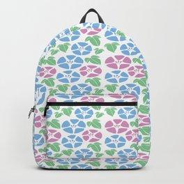 Japanese Blossom Flower of Life Seamless Patterns Symbols Backpack