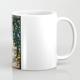 Bretagne et Normandie, French Travel Poster Coffee Mug