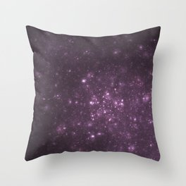 Purple Galaxy of Sir Douglas Fresh Throw Pillow