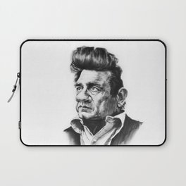Caricature of Johnny Cash Laptop Sleeve