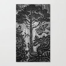 Wood Carvings Canvas Print