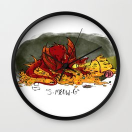 Smeowg Wall Clock