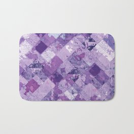 Abstract Geometric Background #30 Bath Mat