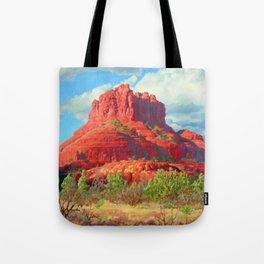Big Bell Rock Sedona by Amanda Martinson Tote Bag