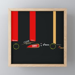 2013 E21 Formula 1 Framed Mini Art Print