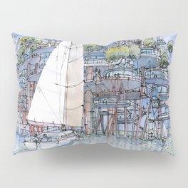 La Citta' sul mare Pillow Sham