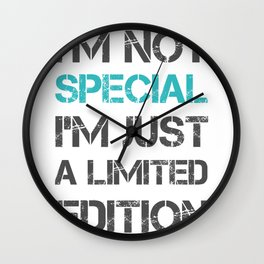 Special limited edition Wall Clock