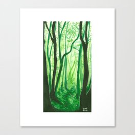 Mossy Dreams Canvas Print