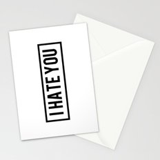 Hate Stationery Cards