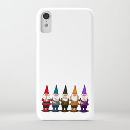 Hangin with my Gnomies - The line up iPhone Case