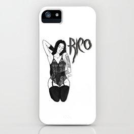 RICO  iPhone Case