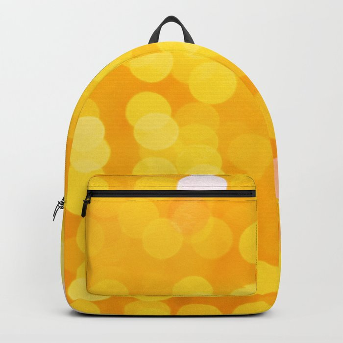 Disco Fever in Yellow Backpack