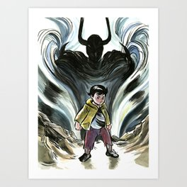 Mighty Atom Art Print