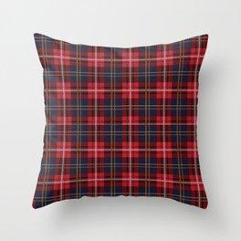 Scottish Royal Modern Tartan Throw Pillow