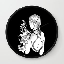 Too Young To Die Wall Clock