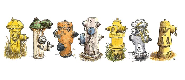 Pete's fire hydrants Coffee Mug
