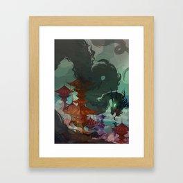 Ether Demon Framed Art Print